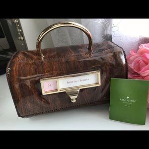 Kate Spade Austin Bronte Card Catalogue Bag Purse